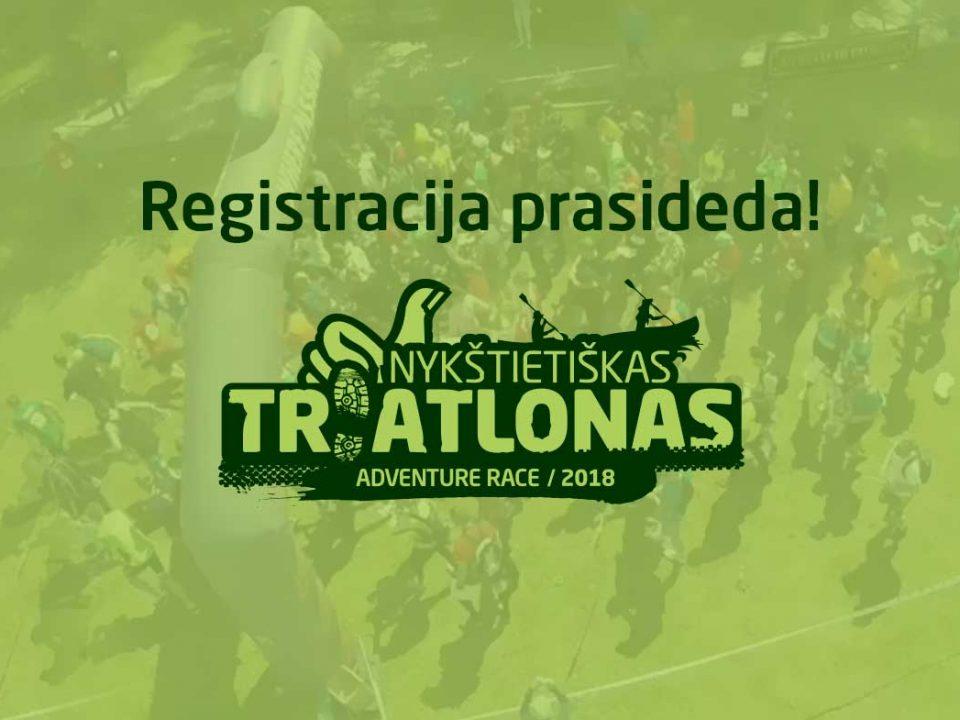 Nykštietiškas Triatlonas 2018 - registracija prasideda